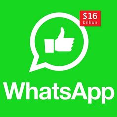 So no.... Facebook's WhatsApp acquisition is the social network's largest acquisition to date.