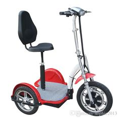 Hot Selling Powerful Three Wheel Electric Tricycle scooter Bike Bicycle Motorbike motor Green personal transporter for elderly disabled Electric Scooter With Seat, Electric Tricycle, Scooter Bike, Bicycle, Boho Fashion Over 40, Third Wheel, Baby Online, Disability, Scooters