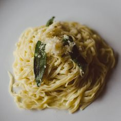 Fresh Pasta With Butter Sage Sauce by getmunchedup on #kitchenbowl