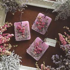ピンクのデルフィニウムサシェ。  #flower #flowers #dryflower #sachet #pink #delphinium #willgarden