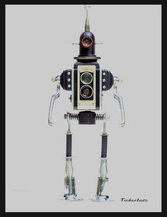 """Duraflex"" Assemblage Robot | Found Object ~ Assemblage Robo… | Flickr"