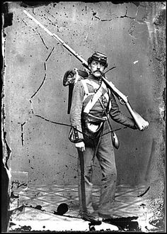 """A soldier wrote """"We are warriors now in full feathers and trappings: ten pounds of gun: eighty rounds per man of ball cartridge, one pound of powder, five pounds of lead, heavy equipments; knapsack, haversack, three-pint canteen, all full; three days' rations; rubber blanket, woolen blanket, shelter tent, full winter clothing; tin cup, tin plate, knife, fork, spoon, spider, et cetera too numerous to mention, and too many to carry and a pound of mud on each shoe.""""  Spiders are cast iron…"""