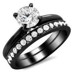 weddings sets with onyx   black gold wedding sets images Black Gold Wedding Sets in Elegant ...