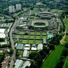 Wimbledon - I absolutely have to attend the tournament here one day!