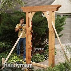 Build a Garden Arch - Step by Step | The Family Handyman