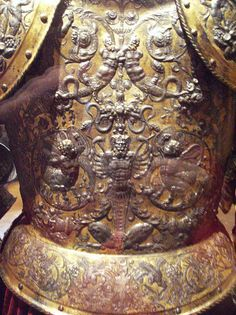 Armor for Henry II of France (detail)  METROPOLITAN MUSEUM