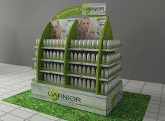 Stand Summer for Garnier on Behance