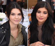 Kylie Jenner's Dramatic Makeup Vs. Kendall Jenner's Bare Face At 'Haute Living' Event Kylie Jenner Makeup, Kendall And Kylie Jenner, Kylie Kardashian, Kyle Jenner, Xbox 1, Hollywood Gossip, Dramatic Makeup, Hair Beauty, Living Magazine