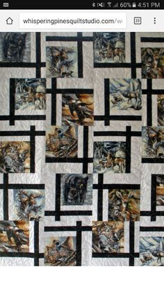 Image result for wildlife panel quilts