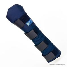 Elico Quilted Tailguard - Navy Navy blue quilted tailguard with elasticated velcro fastening tapes High dock protection and generous length and width