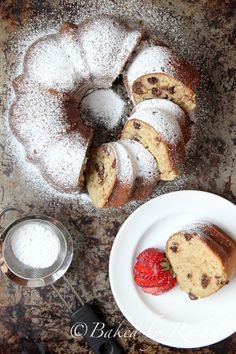 Banana Chocolate Chip Bundt Cake Recipe - bakedbyrachel.com