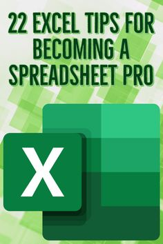 Microsoft's program does just about everything one could ask for in a spreadsheet. Become the office Excel guru in no time with these hacks and tricks. #excels #tips #work