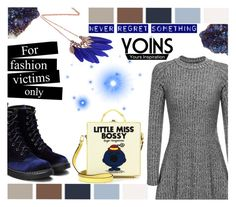 """#SparksFlyWithYoins"" by juromi ❤ liked on Polyvore featuring Olympia Le-Tan, Christian Louboutin, yoins, yoinscollection and loveyoins"