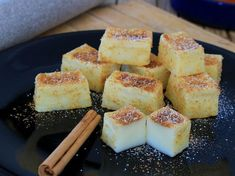 Homemade recipe of how to make Fried Milk Baked Fit in an easy and healthy Tapioca Fit, Fried Milk, Healthy Desserts, Healthy Recipes, Comidas Fitness, Bolo Fit, Donuts, Eat Pretty, Delicious Deserts