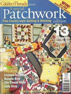 Patchwork Country Threads vol.4-Nº11 - Sandra Vinivikas Artesanatos - Picasa Web Albums...