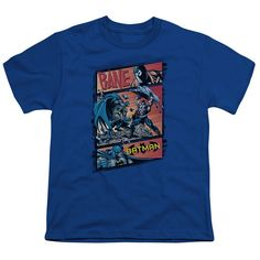 Batman Epic Battle Royal Blue Youth T-Shirt