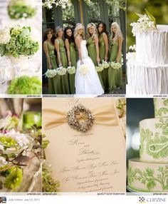 Garden Green Wedding #Mint / pastel green Wedding Reception ... Wedding ideas for brides, grooms, parents & planners ... https://itunes.apple.com/us/app/the-gold-wedding-planner/id498112599?ls=1=8 … plus how to organise an entire wedding ♥ The Gold Wedding Planner iPhone App ♥
