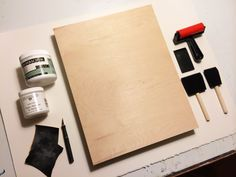 Mounting watercolor paper to a panel tutorial