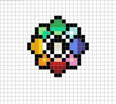 Mapa bits, medallas pokemon