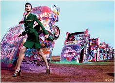 Vogue, March 2012 Karlie Kloss