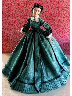 """2011 - Movie Inspired - """"Gone With The Wind"""" - Christmas 1863 #T11GWDD04"""