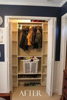 Southern Revivals: Our Under $100 Closet System   IKEA Hack