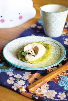 Quenelles de poisson à la purée de fèves pour bébé (sans gluten) - https://www.cubesetpetitspois.fr/recette-bebe-12-mois/quenelles-de-poisson-a-la-puree-de-feves-pour-bebe-sans-gluten/