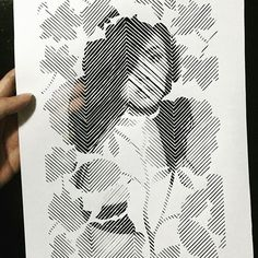 Finally finished! We tried adding double exposure effect to this papercut portrait of Miss World 2013, Megan Young, and we're happy with the end result. Everything was cut by hand from a single sheet of paper.
