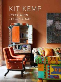 Kit Kemp, Design Director for Firmdale Hotels, has revealed what goes into creating room that draws guests in, from the origin of its fabrics to artwork on the wall. Chelsea Textiles, London Hotels, Architectural Digest, Interiores Design, Colorful Interiors, Colorful Rooms, Bright Rooms, Decoration, Living Spaces