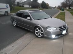 2003 nissan maxima with rims | 350z Injectors | Transgo HD-2 & DR Mod | BC Racing Coilovers |