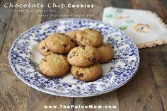 Chocolate Chip Cookies   The Paleo Mom
