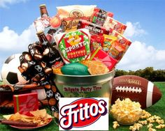 Chance to Win a Fritos and Football Tailgate Party Gift Pail Sweepstakes -- Ends Sunday! ENTER Today at WWW.KUDOSZ.COM