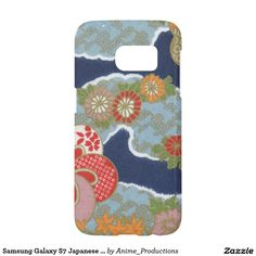 Samsung Galaxy S7 Japanese Floral Wave Phone Case Samsung Galaxy S7 Case
