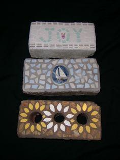 Mosaic Garden Bricks (Amy's Mosaics)