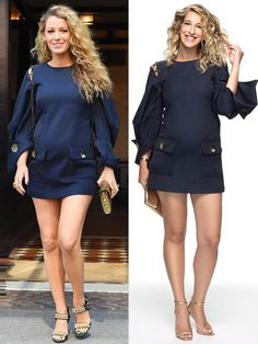 I dressed like Blake Lively! Click through to see all the Blake-inspired maternity fashion