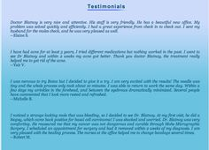 Read what our #customers have to say!  #Skin  #Dermatology #Blatnoy #Testimonials