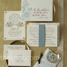 elegant wedding invitations.