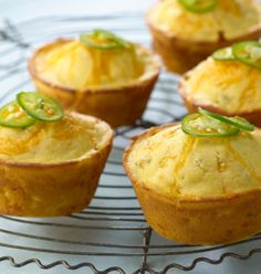 Serve these corn muffins with chili or other Southwestern meal to jazz up your tailgate party!