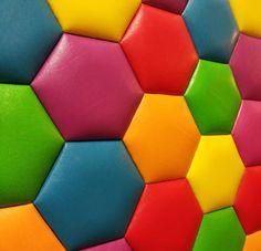 Мягкая плитка для стен - ШЕСТИГРАННИК