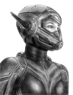 A blank variant Ant-Man sketch cover depicting Paul Rudd & Evangeline Lilly as the title characters from current Marvel film Ant-Man and the Wasp. Ant-Man and the Wasp sketchcover Realistic Pencil Drawings, Pencil Art Drawings, Art Sketches, Avengers Drawings, Avengers Art, Avengers Painting, Marvel Comics Art, Marvel Heroes, Vespa Marvel