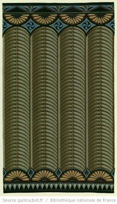 1000 images about bordure frises papier peint zuber vers. Black Bedroom Furniture Sets. Home Design Ideas