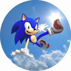 Hedgehog Art, Sonic The Hedgehog, Fotos Do Sonic, Sonic Cake, Sonic Party, Sonic Birthday, Rv Redo, Edible Printing, Sonic And Shadow