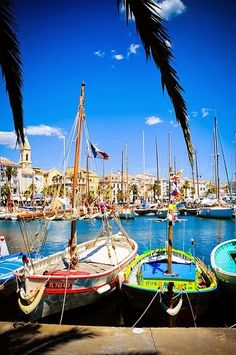 The harbor of Sanary sur Mer, French Riviera http://www.pinterest.com/loridschlitz/the-belletristic-traveler/