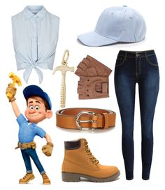 """""""Fix it Felix Jr."""" by disneygal3 ❤ liked on Polyvore featuring Topshop, Étoile Isabel Marant and Rembrandt Charms"""