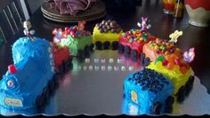 Mickey Mouse Choo Choo Express Cake