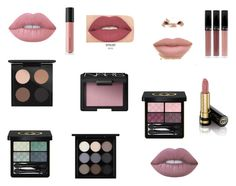 """makeup"" by martyna10146 on Polyvore featuring uroda, Lime Crime, Bare Escentuals, Smashbox, MAC Cosmetics, Gucci i NARS Cosmetics"