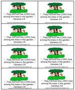Adam & Eve Bible Verse Cards