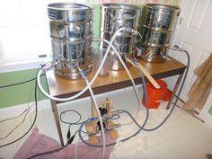 Huge E-HERMS build, 3 keggles, control panel, stir plate, ferm controller, 61 pics - Home Brew Forums
