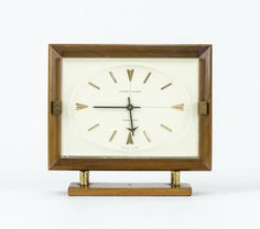 french mid century modern desk vintage desks desk clock clocks forward