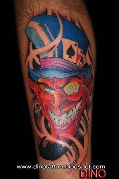 39 Best Red Devil Tattoo images in 2017 | Devil tattoo